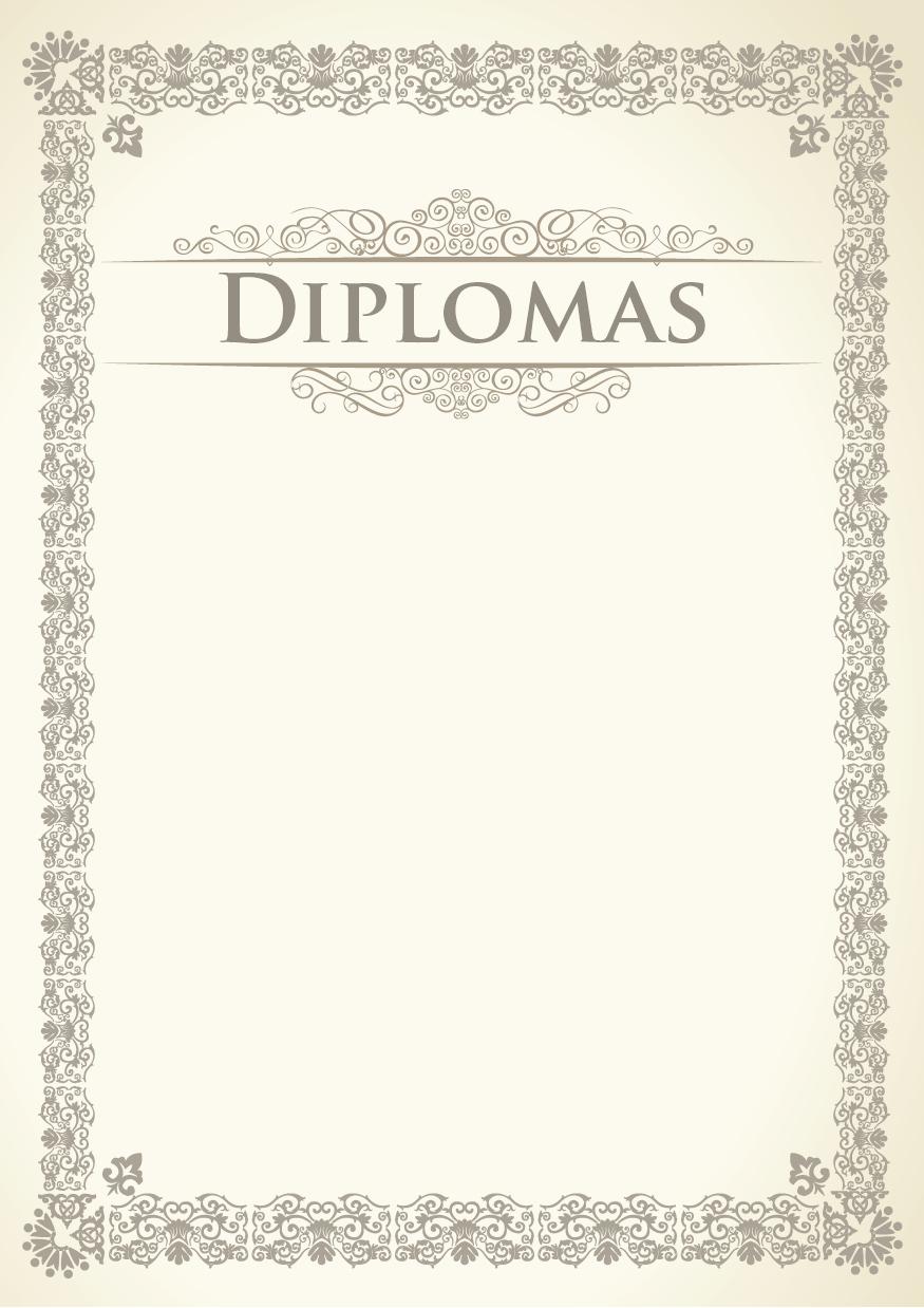 Diplomu sablonai